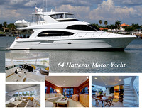 "64 HATTERAS MOTOR YACHT ""HIGH ON THE HOG"""